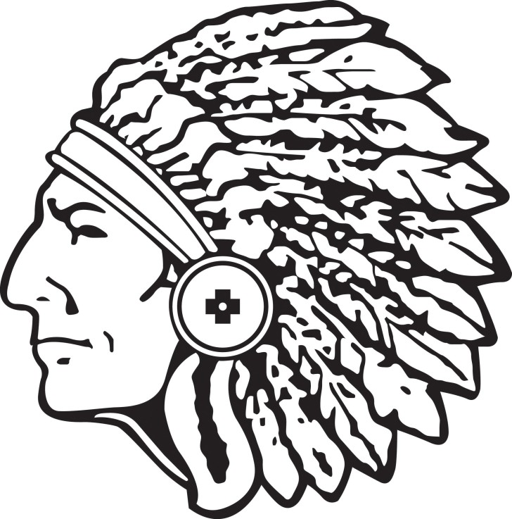 indian head clip art