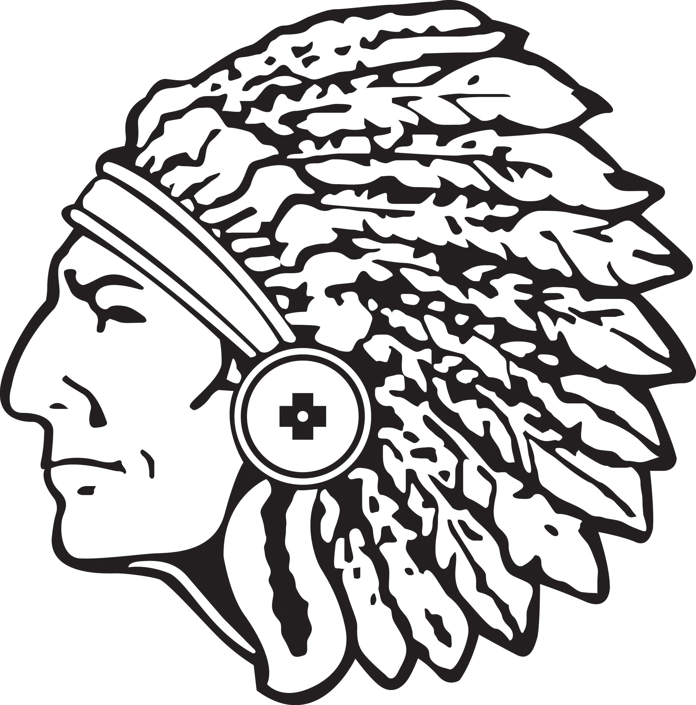 Indian Head Clipart Cliparts Co
