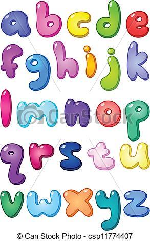 Individual Alphabet Letters Clipart Cliparthut Free Clipart