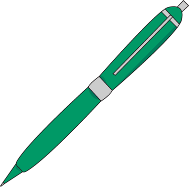 Ink Pen Clip Art Image Green Clipart Panda Free Clipart Images