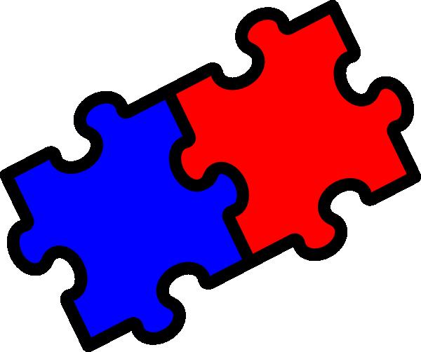 Interlocking puzzle clipart kid