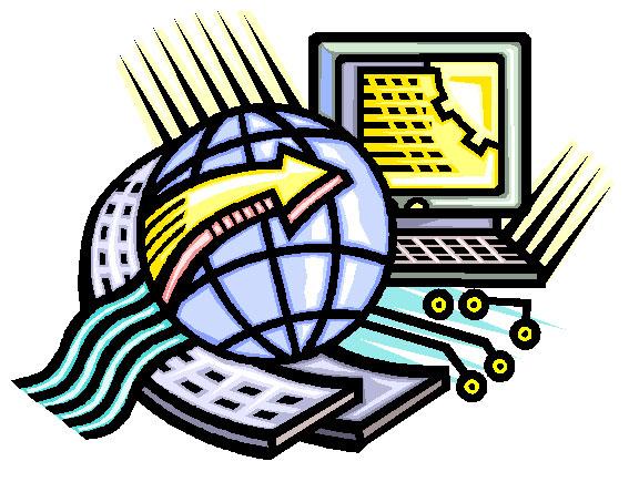 Internet Technology Clip Art