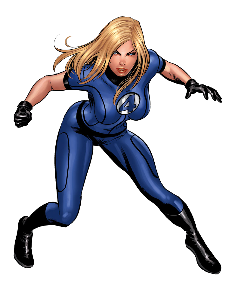 Invisible Woman PNG Photos