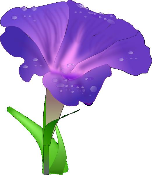 iris flower clip art #4
