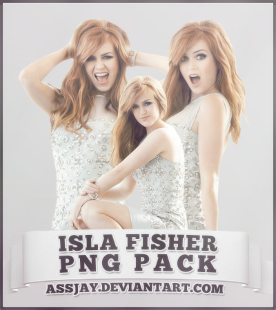 ISLA FISHER PNG PACK | ASSJAY - Isla Fisher Clipart