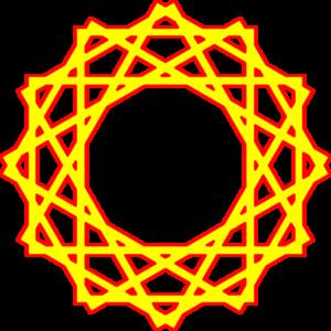 Yellow Red Islam Clip Art