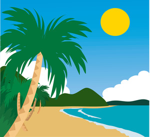 Island cliparts