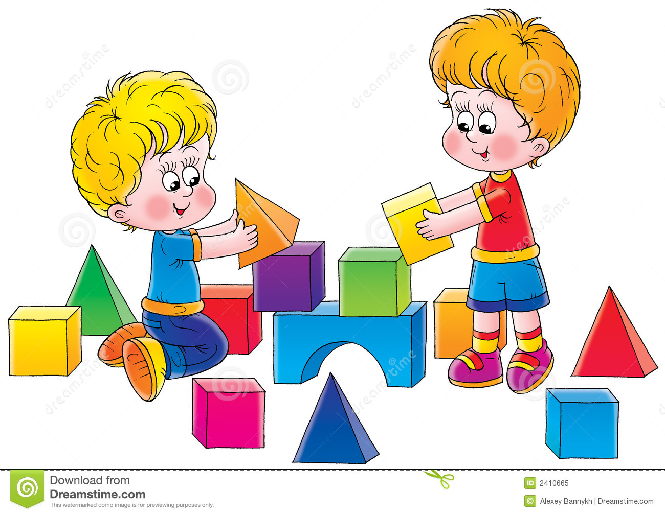 Isolated Clip Art And Children .
