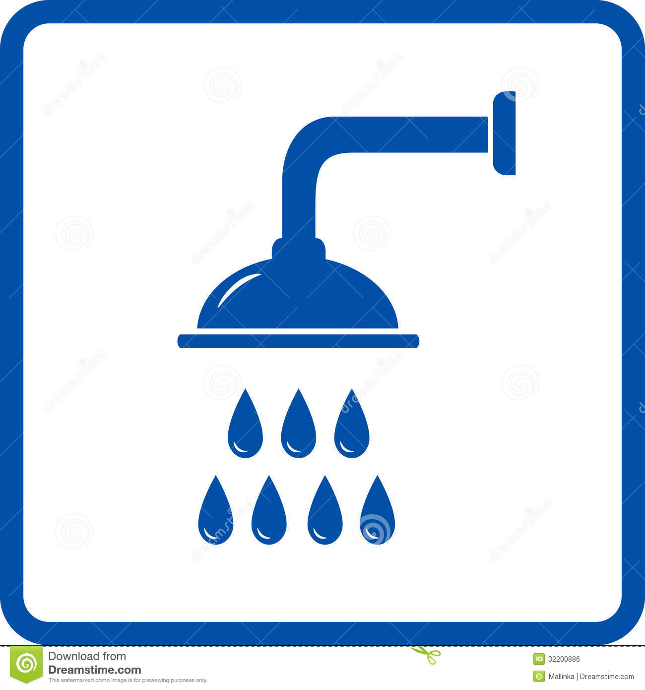 Isolated Shower Head Royalty Free Stock Image Image 32200886