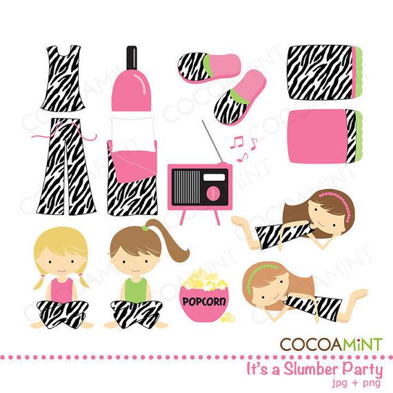 Itu0026#39;s a Slumber Party Clip Art ..