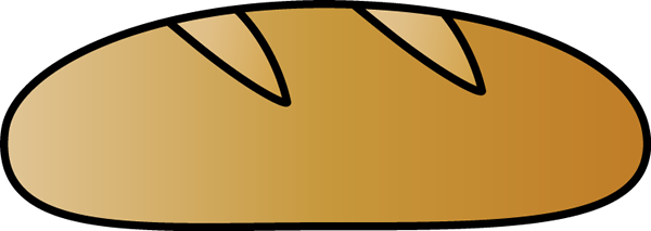 Loaf Of Bread Clipart Etc