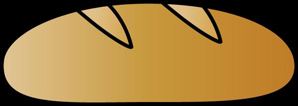 Italian Bread - Bread Clip Art