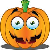 Halloween banner with pumpkins · Jack o Lantern Pumpkin Face - 16