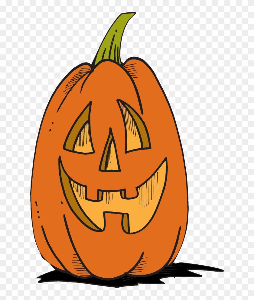 Halloween Jack O Lantern Clip Art - Jack O Lanterns Clipart