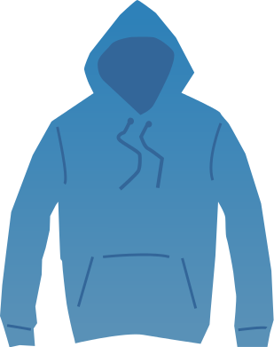 Sweater Clothing Clip Art | Hoodie Clip Art