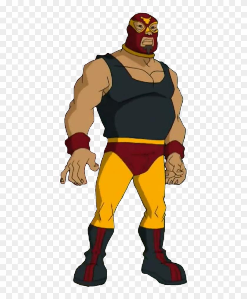 Chupacabra Clipart Luchador - Jackie Chan Adventures El Toro Fuerte