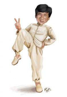 Jackie Chan by natynarunyo - Jackie Chan Clipart