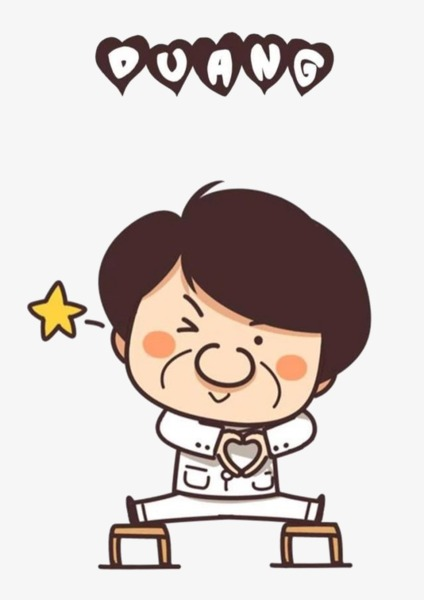 Jackie Chan Cartoon, Cartoon Clipart, Cartoon, Hand Painted PNG Image And  Clipart