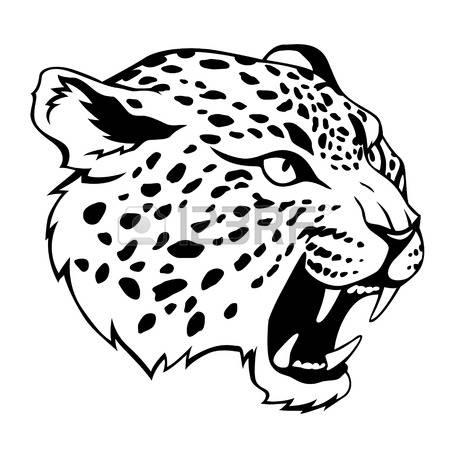 Stylized jaguar