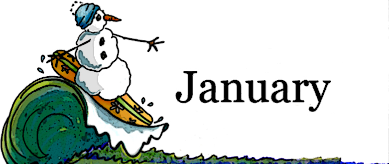 January clip art image