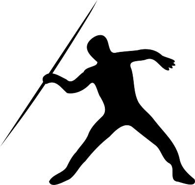 Javelin Throw Silhoette