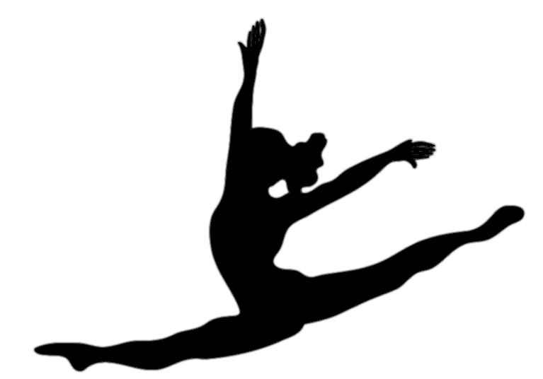 jazz dancer clipart silhouette