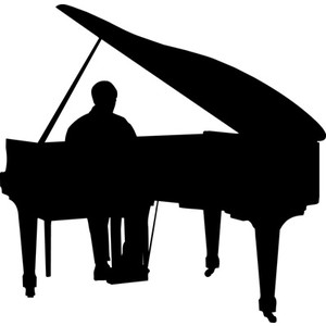 Jazz piano clipart free clipart images 2