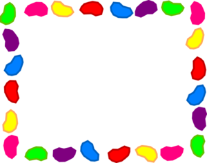 Jelly Bean Background Rainbow Clip Art At Clker Com Vector Clip Art