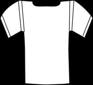 Jersey White Clip Art At Clker Com Vector Clip Art Online Royalty
