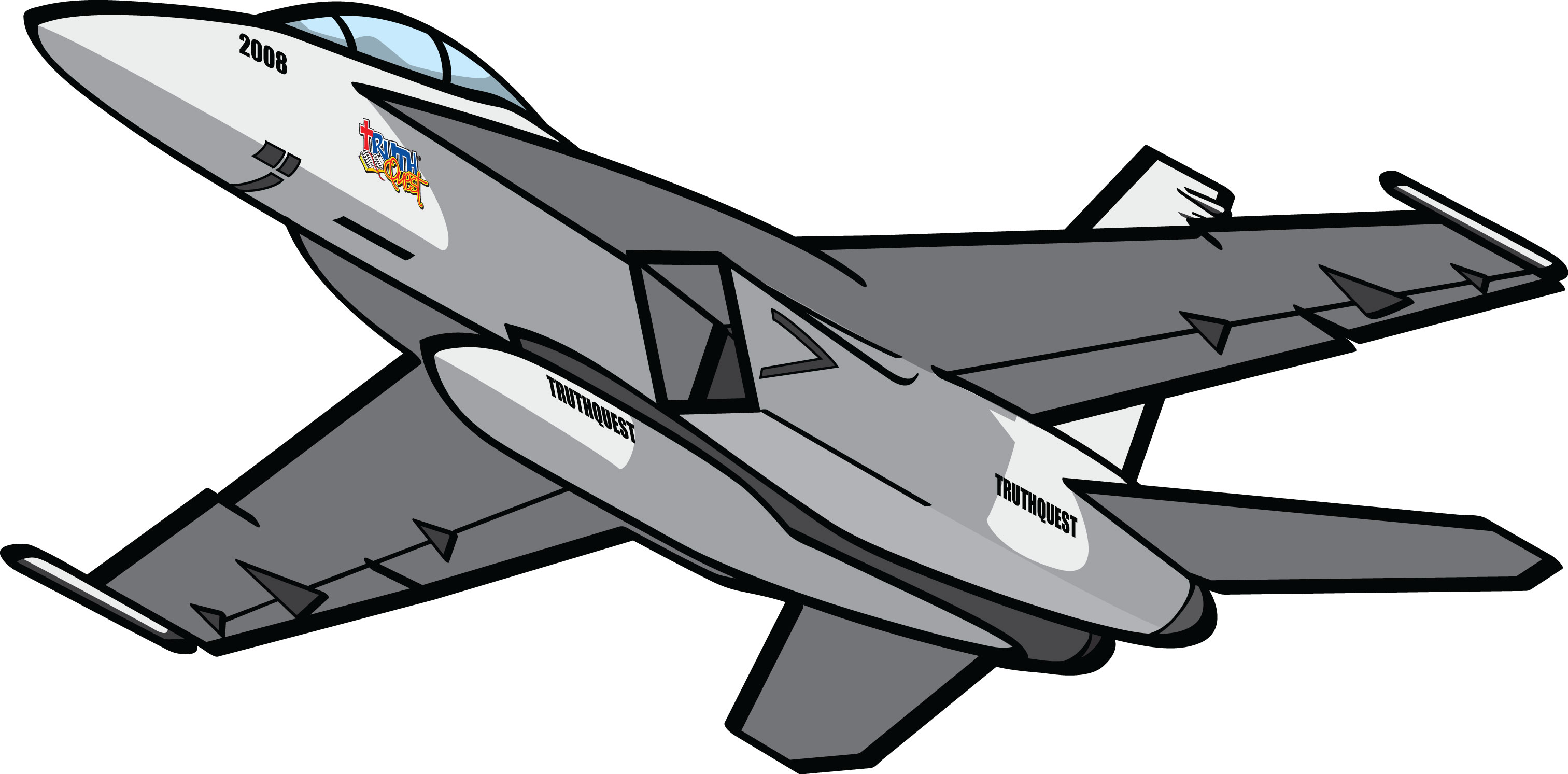 Clipart Jet 4 » Clipart Station