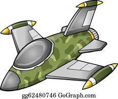 Jet Aircraft Clip Art - Royalty Free - GoGraph
