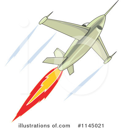 Jet Clipart #1145021 - Illustration by patrimonio