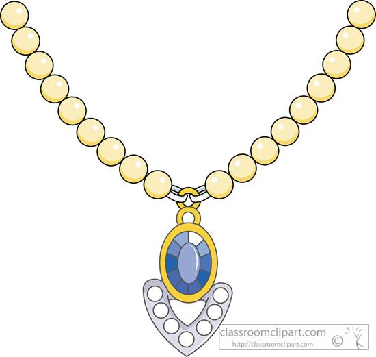 Jewelry Jewelry Necklace 1013 Classroom Clipart