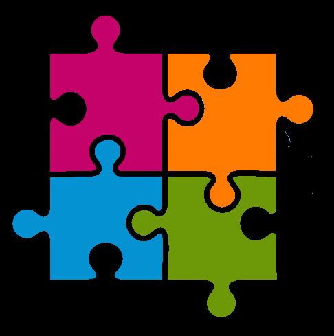 Jigsaw Clip Art. Free to Use .