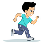 Jogging Running For Exercise Size: 86 Kb