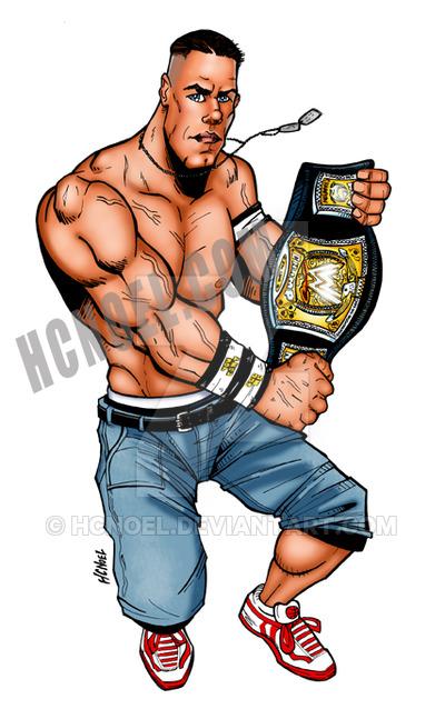John Cena by hcnoel ClipartLook.com