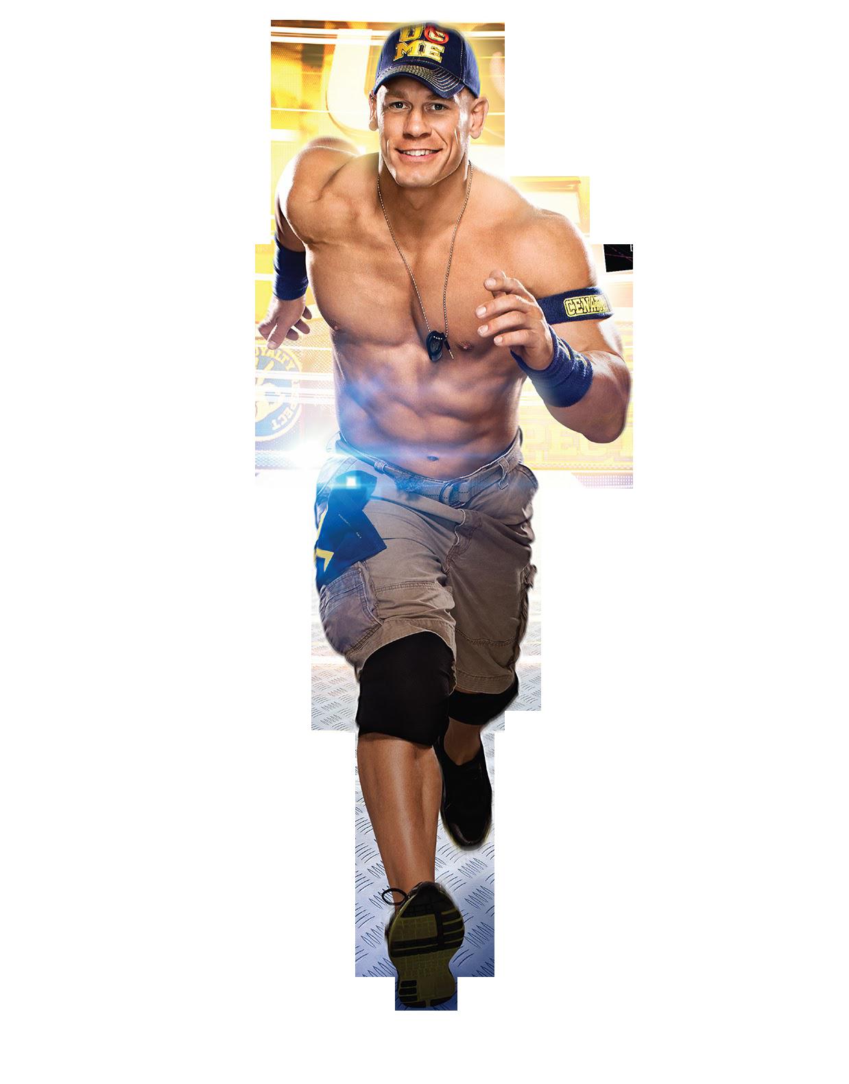 John Cena Running Png PNG Image