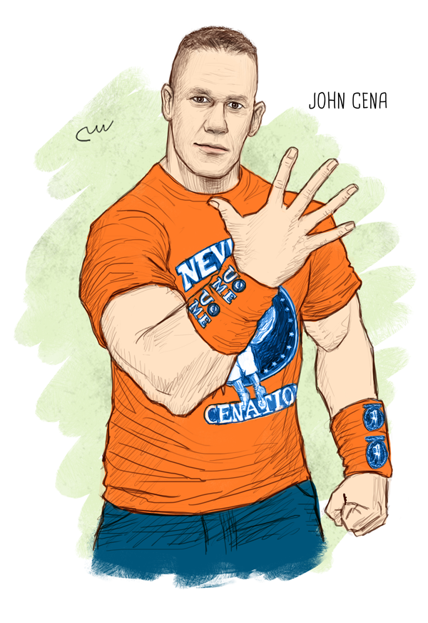 WWE John Cena by baguettepang ClipartLook.com