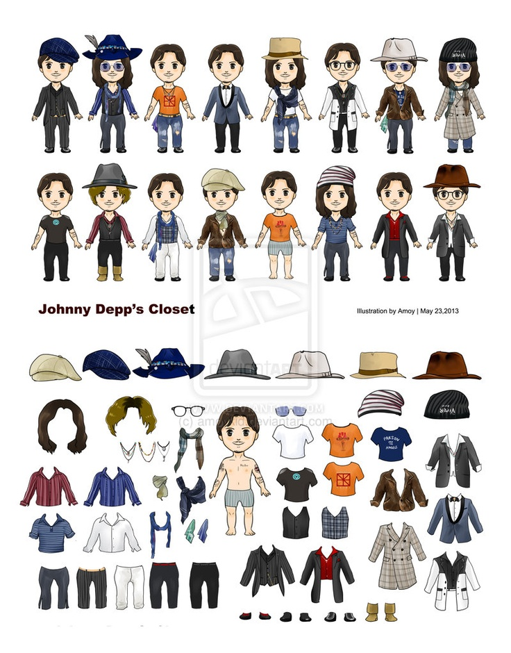 2013-5-23 JD Closet by amoykid.deviantart hdclipartall.com on @deviantART · Johnny DeppFuture  Husband