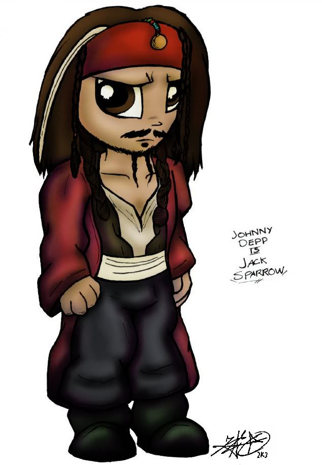 Clipart johnny depp