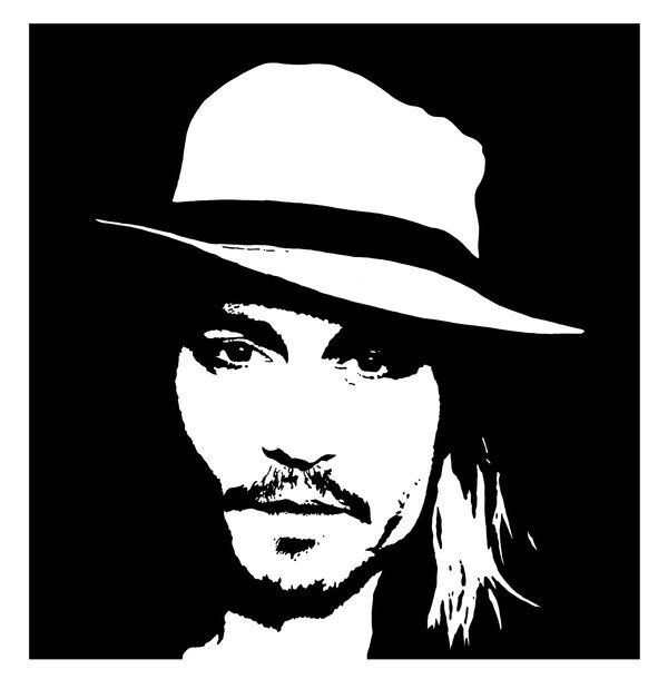 Johnny Depp Clipart