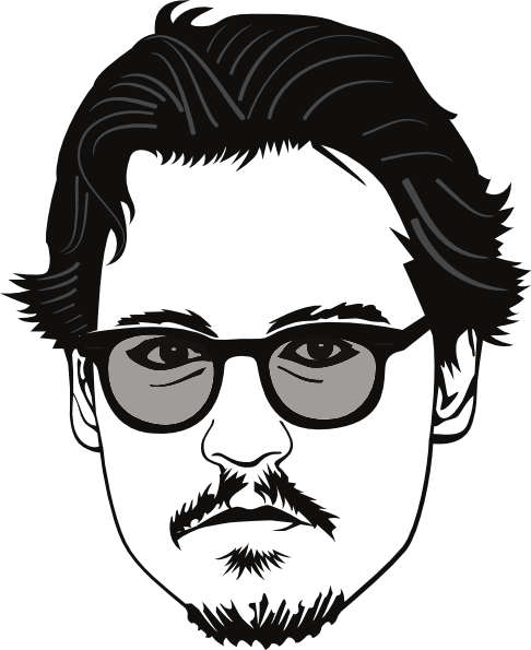 Johnny depp hd clipart