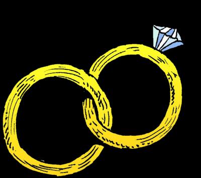 Joined Wedding Rings Christian Wedding Clip Art Christart Com