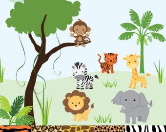 Jungle safari .