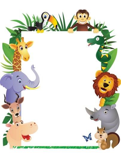 Jungle Theme Clipart