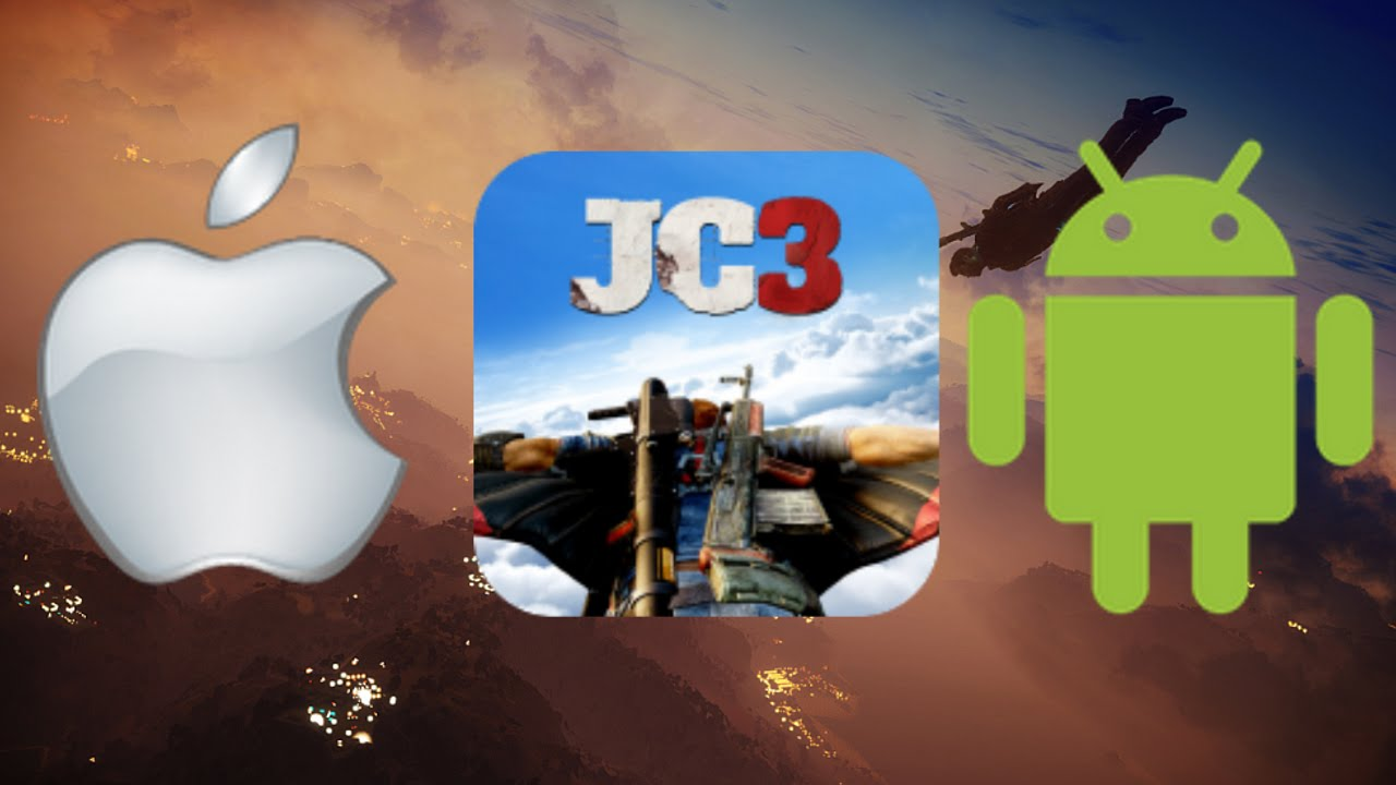 Just Cause 3 app : ios/android   Virtual Reality/WingSuit Experience