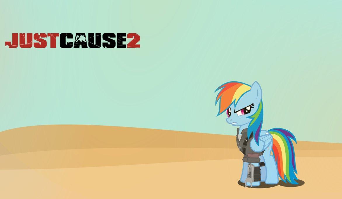 JUSTCAUSEZ Just Cause 2 Just Cause 3 Rainbow Dash Pony cartoon mammal  vertebrate horse like mammal