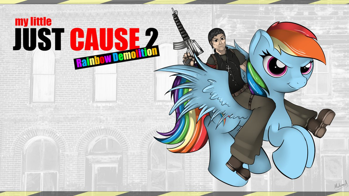 My Little Just Cause 2 Rainbow Demolition by malamol ClipartLook.com