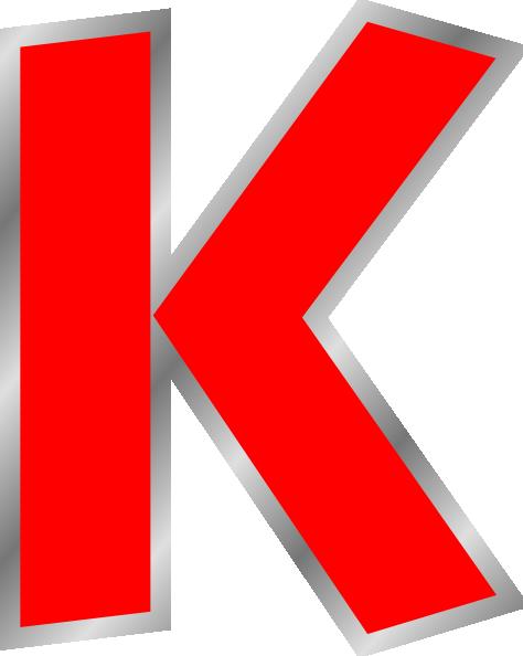 K Clipart. Letter K Clipart