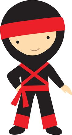 Kai Ninja Clip Art. Personagens - Minus